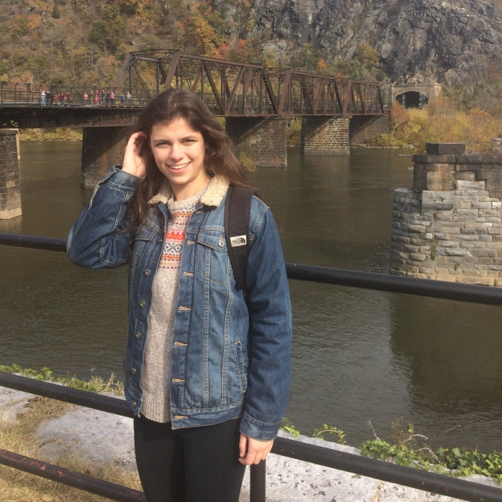 what I wore at Harper's Ferry