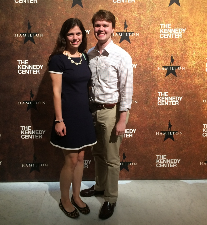 At Hamilton at the Kennedy Center