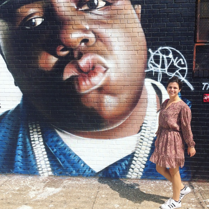mural of Biggie in Bushwick