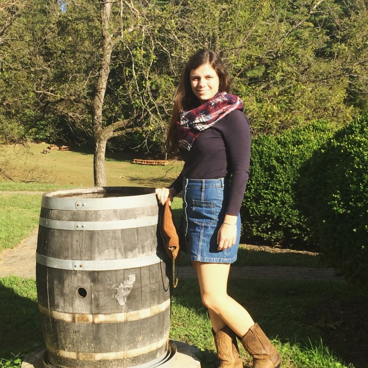 What I wore to Paradise Springs Winery