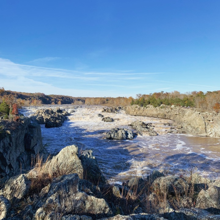 The rapids at Great Falls