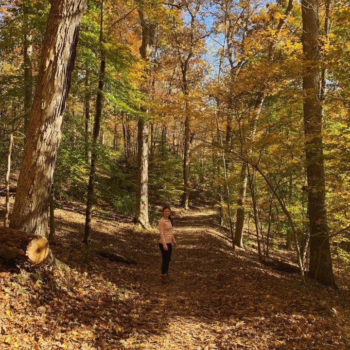 Hiking at Great Falls