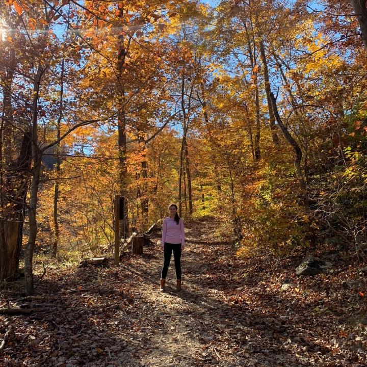 Hiking near DC at Great Falls