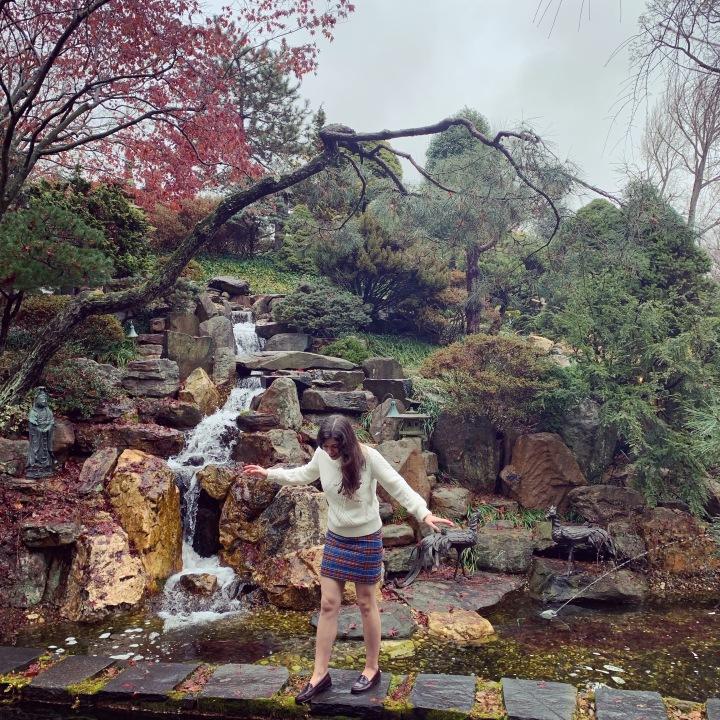 Hillwood Japanese garden