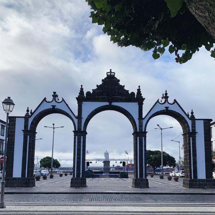 City Gates in Ponta Delgada, Azores