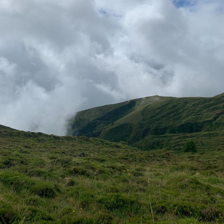 Pico da Barrosa viewpoint Azores
