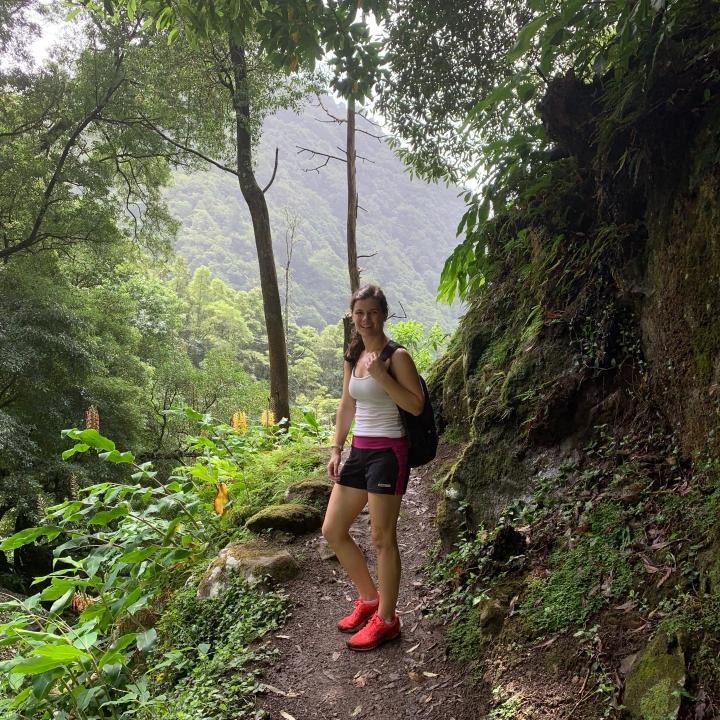 Salto do Prego hike in the Azores