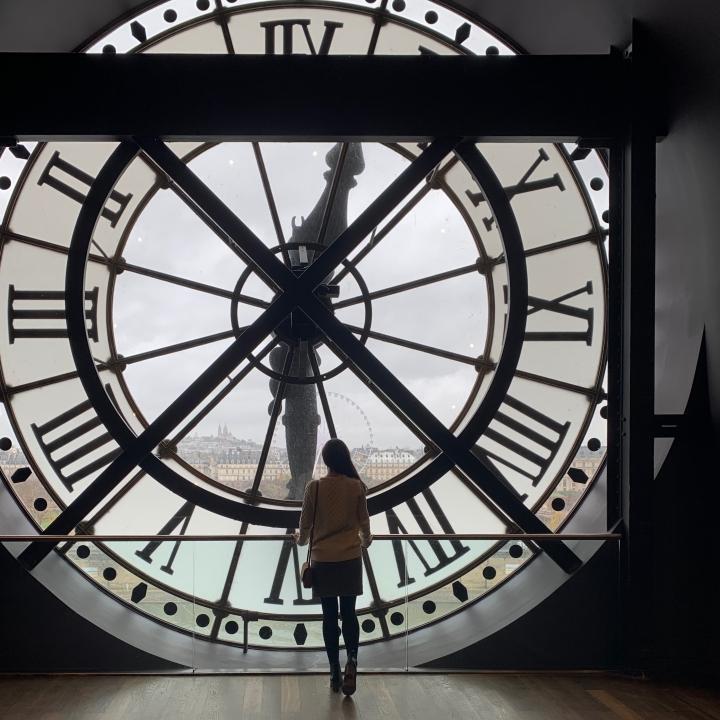 clocks at the Musee d'Orsay