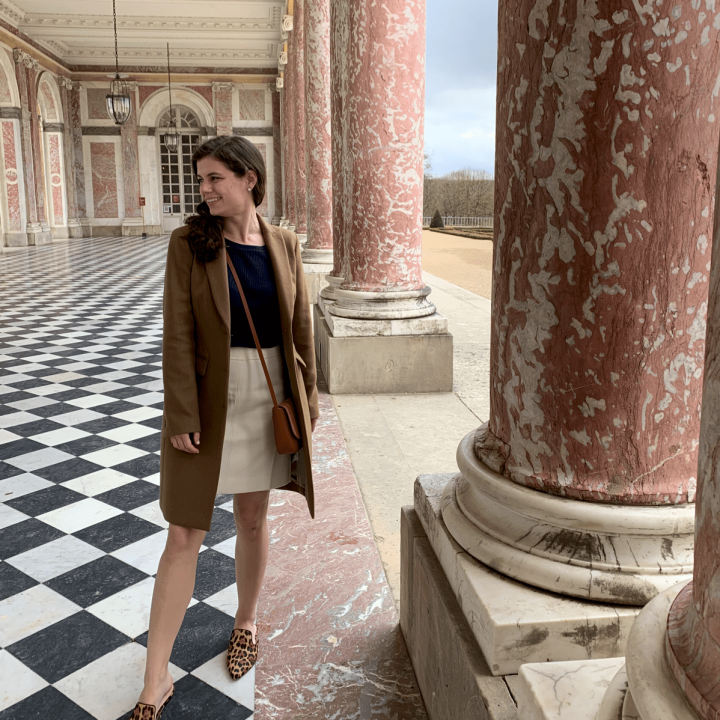Pink Marble Terrace at Grand Trianon