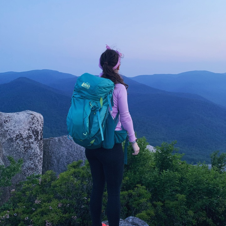 backpacking at Old Rag