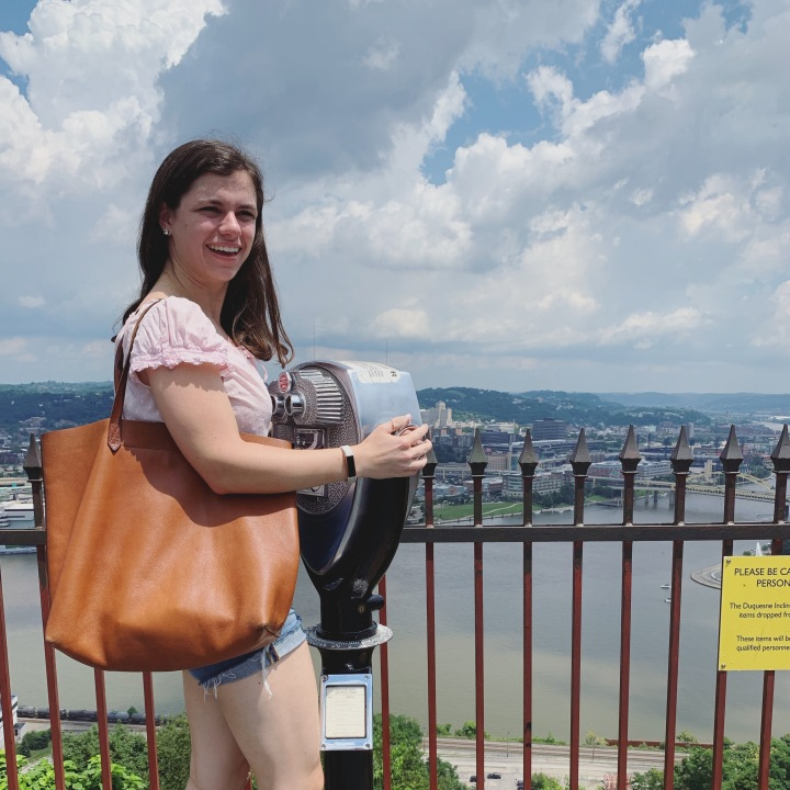 What I wore for a day in Pittsburgh