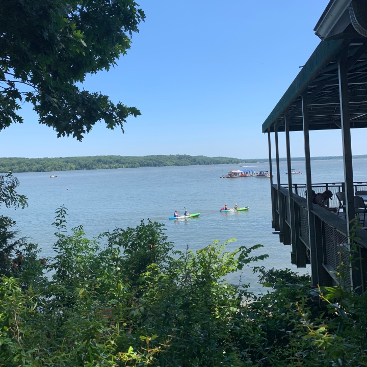 Renting paddleboards at Pohick Bay Regional Park