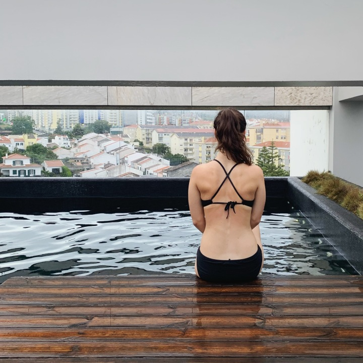 Hotel Azor pool view